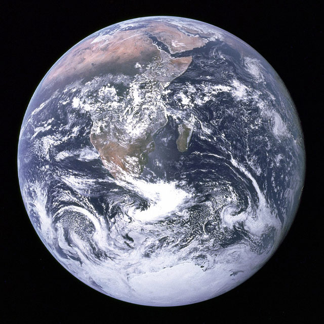 Earth From Apollo